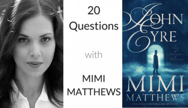 Mimi Matthews headshot and book cover