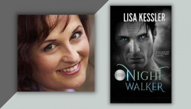 Lisa Kessler Headshot & Book cover